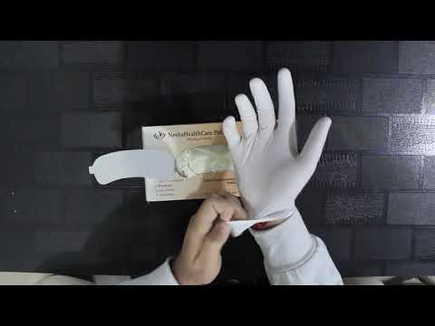 Surgical Latex Hand Gloves
