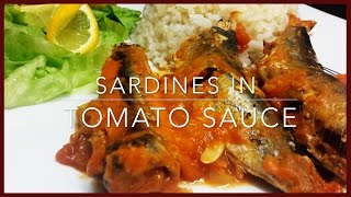 How to make Sardines in Tomato Sauce | Easy & Healthy Sardines Recipe