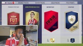 INFORM IN A PACK! - ELITE 1 SQUAD BATTLE REWARDS! - FIFA 18
