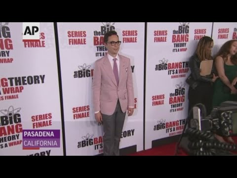 "At an event in Los Angeles, ""The Big Bang Theory"" stars say concluding their smash sitcom has been an emotional experience. (May 2)"