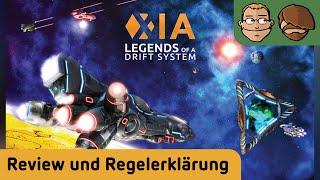 Xia: Legends of a Drift System - Brettspiel - Review und Regelerklärung