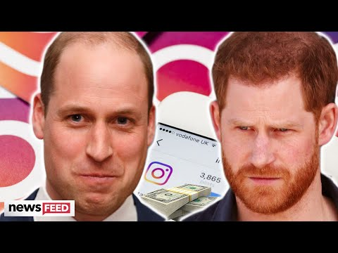 Prince William Buying IG Followers To Compete With Prince Harry?!?