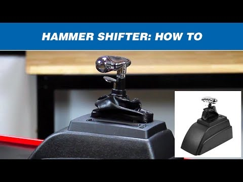 How to Shift a B&M Hammer Shifter