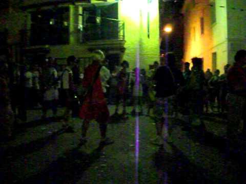 Traca fin de fiestas en Sabiñán 2011