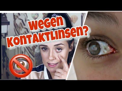Fast BLIND durch Kontaktlinsen?