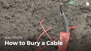How to Bury a Cable | Electricity