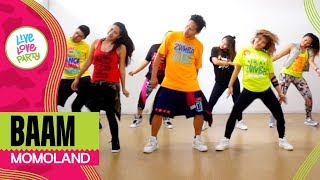 Baam by Momoland | Live Love Party™ | Zumba® | Dance Fitness