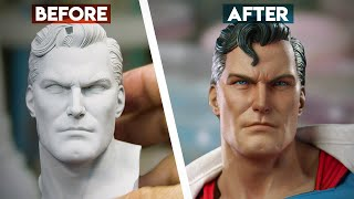 Painting the Superman: Call to Action PF | Sideshow Behind the Scenes