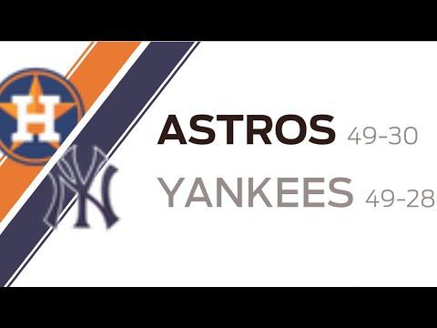 New York Yankees VS Houston Astros| Game Highlights| June 23
