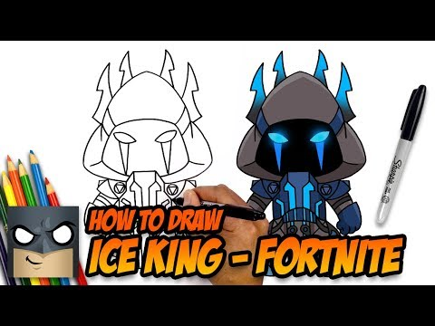 How To Draw Ice King Fortnite Step By Step Tutorial