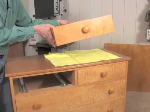 Installing Under-Mount Drawer Slides - смотреть онлайн на