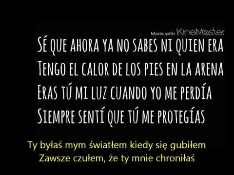 Alvaro Soler Agosto Lyrics PL tekst