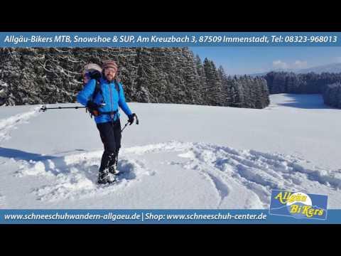 Richtig Schneeschuhlaufen - Die Technik