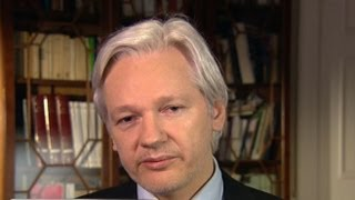 Julian Assange Interview 2013 On Edward Snowden on