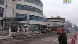 В Солнечногорске началось строительство пешеходной зоны