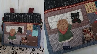 DIY 퀼트가방 만들기 │ Patchwork Quilt Bag  │  How To  Make Crafts Tutorial