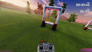Walk in the park drone racing league DRL simulator