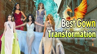 BEST EVENING GOWNS TRANSFORMATION IN BEAUTY PAGEANTS EVER | TOP 12 DẠ HỘI BIẾN ĐỔI XUẤT SẮC NHẤT