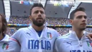 Italy National Anthem   World Cup 2014   Italy vs. Uruguay
