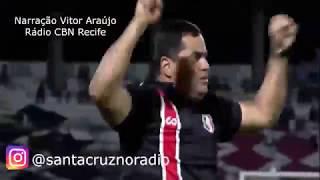 25.4.19 - Santa Cruz 2 (2) X (3) 0 Fluminense - Rádio CBN Recife