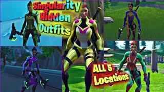 Singularity Hidden Helmets All 5 Locations