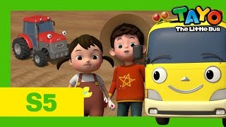 Tayo S5 EP8 l Kinder's visit to the farm l Tayo the Little Bus