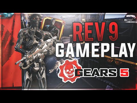 GEARS 5 - 8 Minutes of REV 9 Character Gameplay! 23 -1 EXE MVP