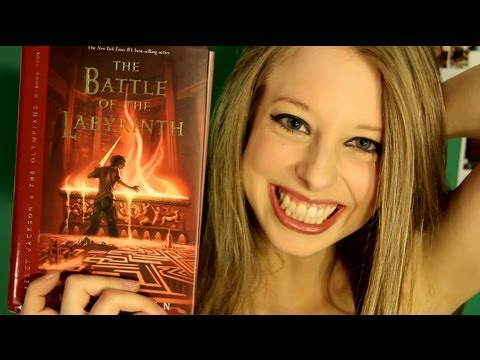 THE BATTLE OF THE LABYRINTH BY RICK RIORDAN: booktalk with XTINEMAY