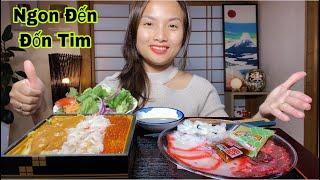 1 Mình Cân Sạch Dĩa Sashimi Cá Voi Xanh & Cơm Trộn Hải Sản Tươi Sống Kaisendon Dễ Sợ Chưa #417