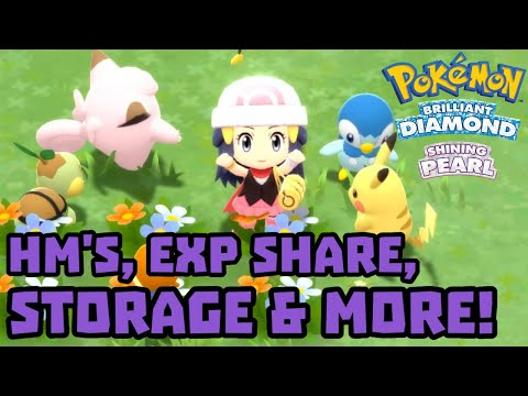 , title : 'HMs, EXP Share, Auto-Save and More Details Revealed for Pokémon Brilliant Diamond and Shining Pearl!'