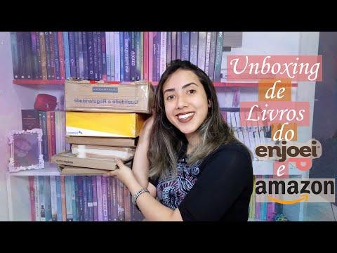 ?UNBOXING DE LIVROS? |?Enjoei&Amazon?| Leticia Ferfer |Livro Livro Meu