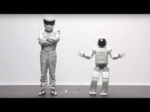The Stig vs Asimo | Top Gear