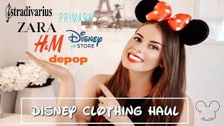 HUGE DISNEY CLOTHING TRY ON HAUL | ZARA STRADIVARIUS H&M PRIMARK & MORE.. | Chantelle Victoria ❤