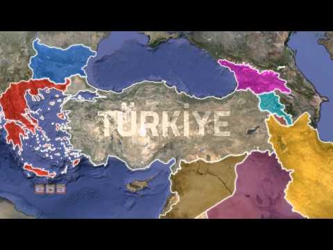 Irak Suriye İran İç Karışıklıklarını Sadece Atatürk'ün Akılcı Bögesel Politikaları Çözer
