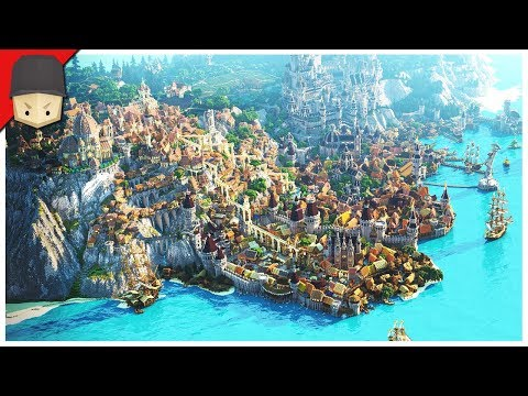 minecraft medieval map epic