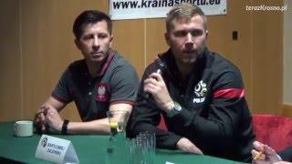 Konferencja prasowa przed Turniejem Trzech Narodów w Krośnie