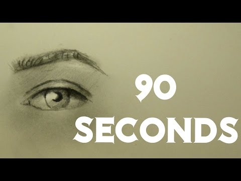 HOW TO DRAW AN EYE IN 90 SECONDS