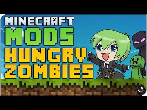 Minecraft Mods 90 - Zombis comilones (Hungry Zombies)