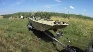 Рыбалка на болотоходе