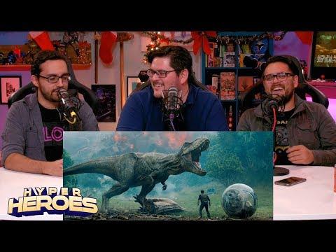 Jurassic World: Fallen Kingdom - Official Trailer Reaction