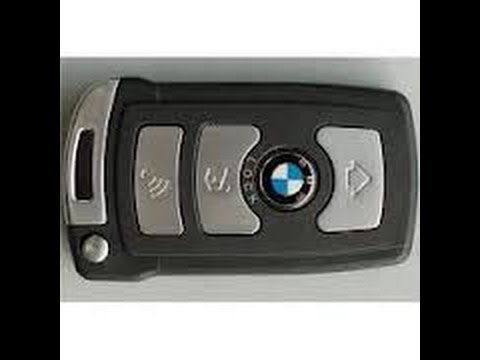 How To Replace And Charge A Battery In A Key Fob For BMW 7 Series E65 E66