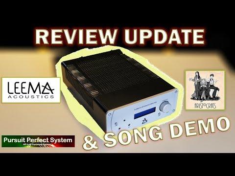 Leema Acoustics Elements Integrated HiFi Amplifier REVIEW UPDATE & Song Demo Monitor Audio Platinum