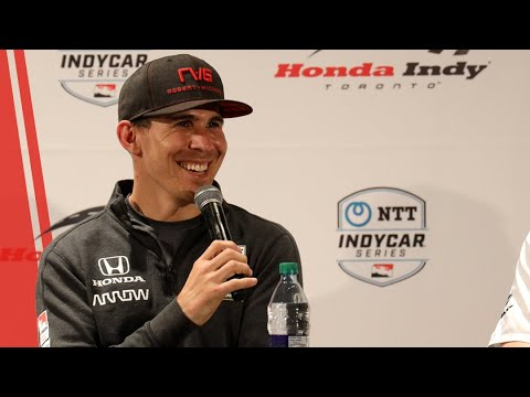Robert Wickens Press Conference at the 2019 Honda Indy Toronto