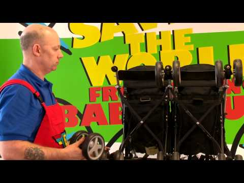 Cosatto Fix It Guide - Front Wheel Replacement