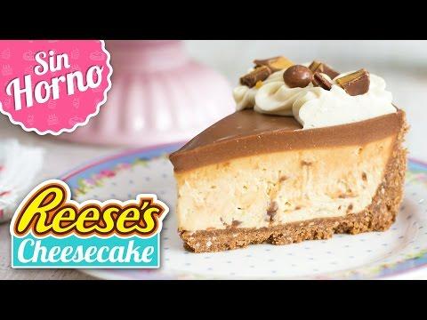 CHEESECAKE DE REESE'S   Postre sin horno   Quiero Cupcakes!
