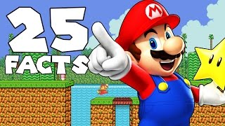 25 Things You Didn't Know About Mario (25 Facts)