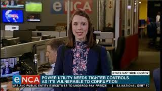 State Capture Inquiry On Eskom