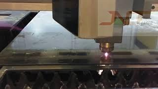 20KW exchange platform safety closed fiber laser cutting machine youtube video