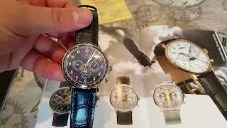 Zeppelin Hindenburg Moonphase Watch - First Impressions - Zeppelin Watches