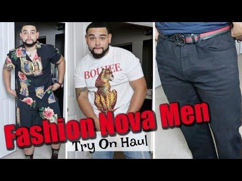 First FashionNova Try On Haul | Fashion Nova Men x FN Curve
